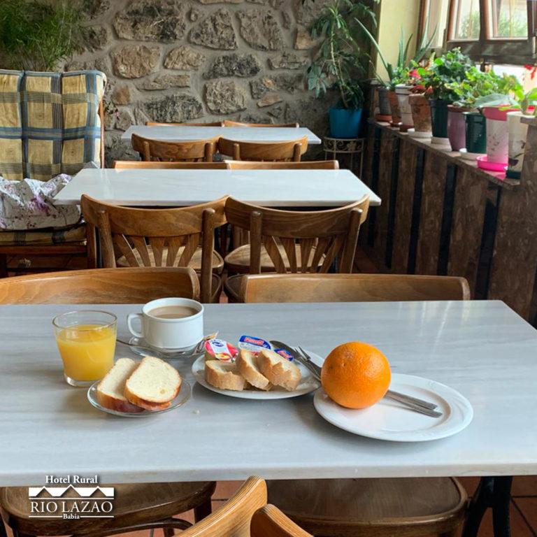 rio-lazao-hotel-rural-babia-desayuno